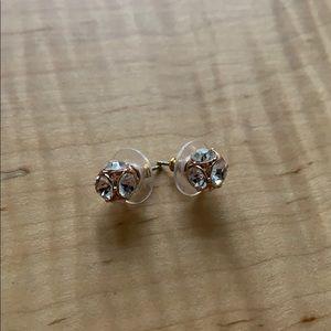 Kate Spade stud crystal earrings.